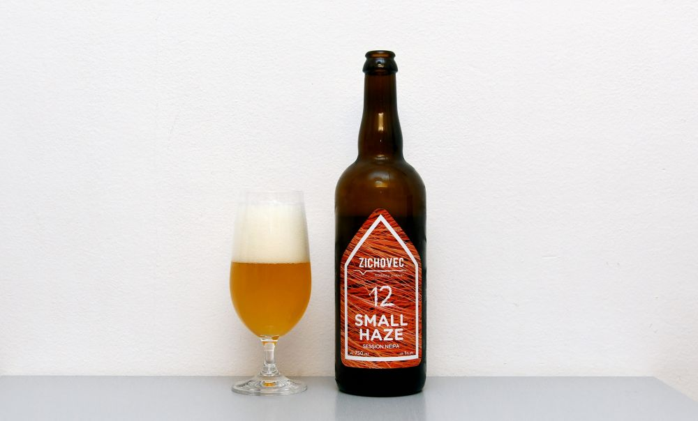 Small Haze, Zichovec, NEIPA, Session NEIPA, české pivo, recenzia, test piva