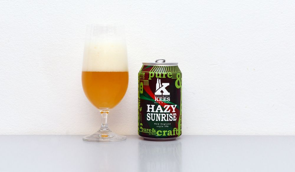 Hazy Sunrise, Brouwerij Kees, Kees, NEIPA, New England IPA, recenzia, holandské pivo, Holandsko