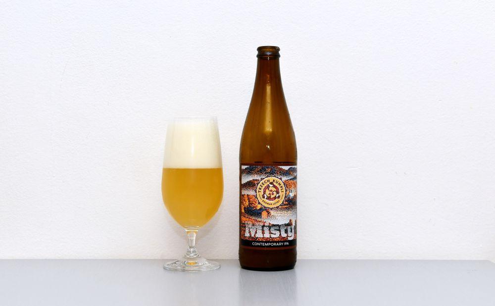 Browar Trzech Kumpli, Misty, NEIPA, New England IPA, recenzia, test, poľské pivo