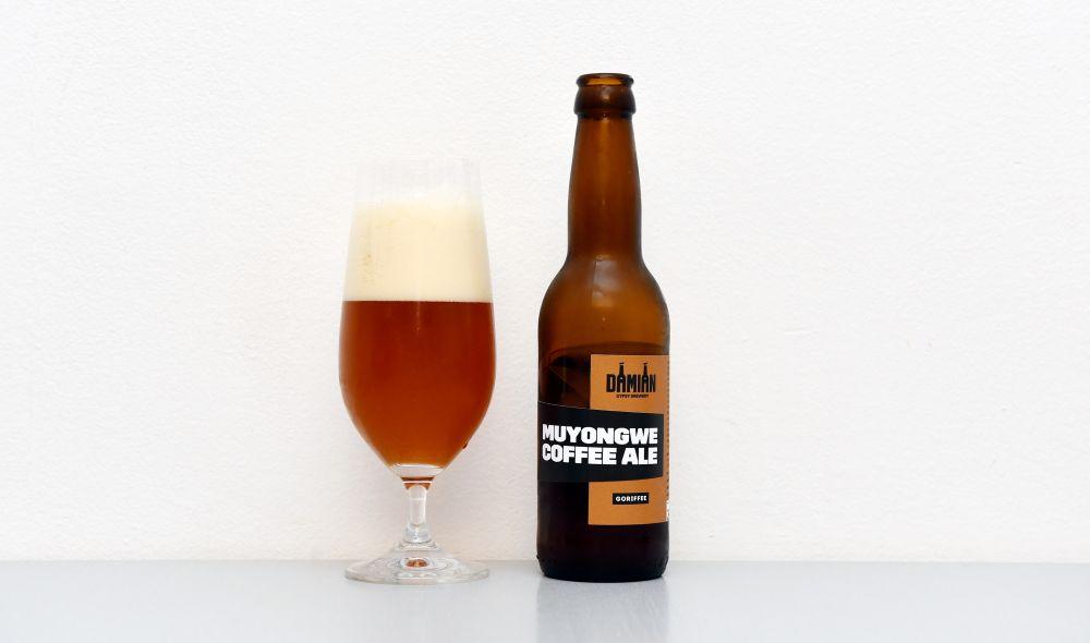 Damian Gypsy Brewery, General, Goriffee Muyongwe, Coffee Ale, APA, test, recenzia