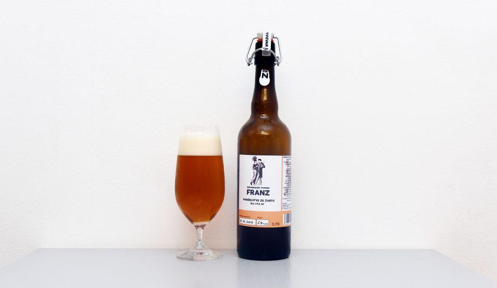 Manželstvo zo žartu, Reštauračný pivovar Franz, Franz, Rye IPA, India Pale Ale, slovenské pivo, lučenecké pivo