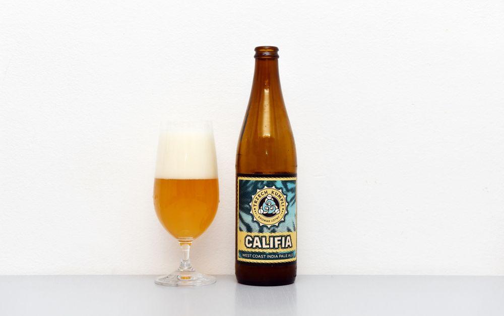 Trzech Kumpli, Califia, IPA, India Pale Ale, poľské pivo, IPA, test, recenzia,