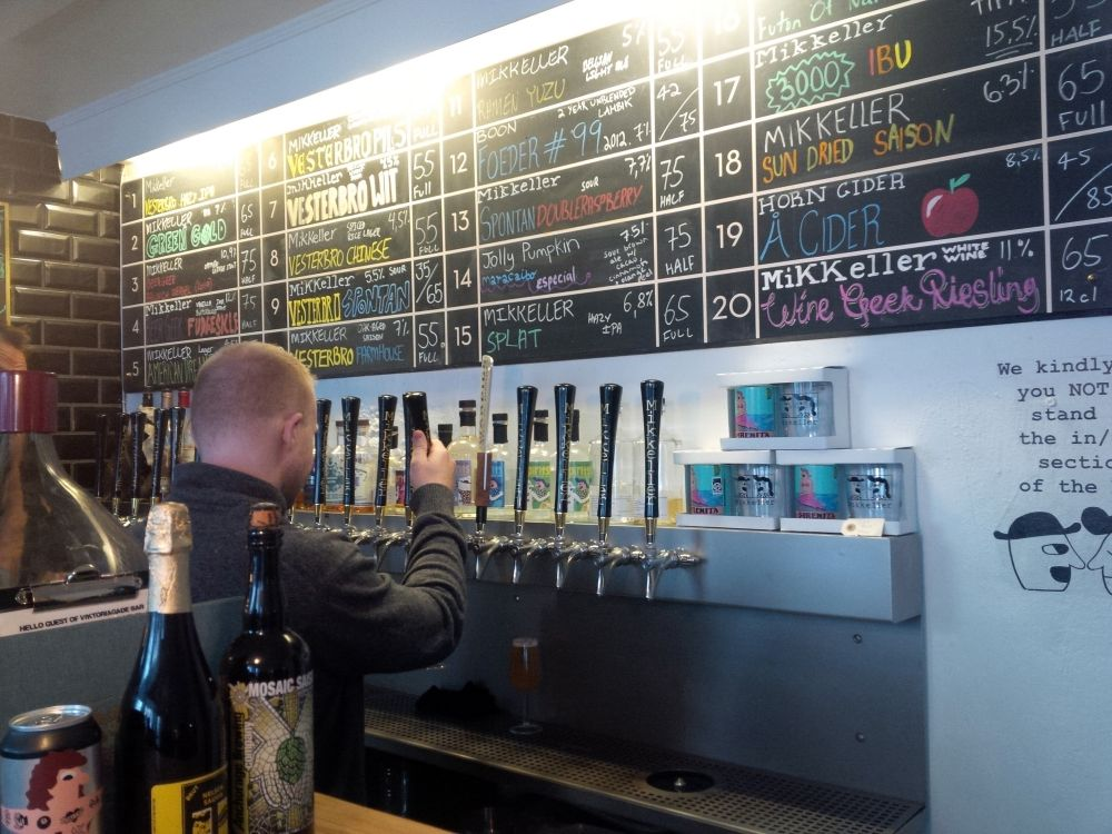 Mikkeler, Mikkeller Baghaven, Kodaň, dánske pivo, dánsky podnik