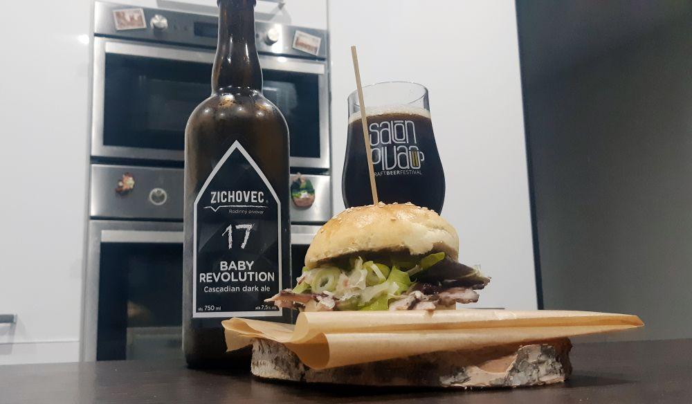 Pivo Zichovec a Baby Revolution a recept od Punková kuchyňa.