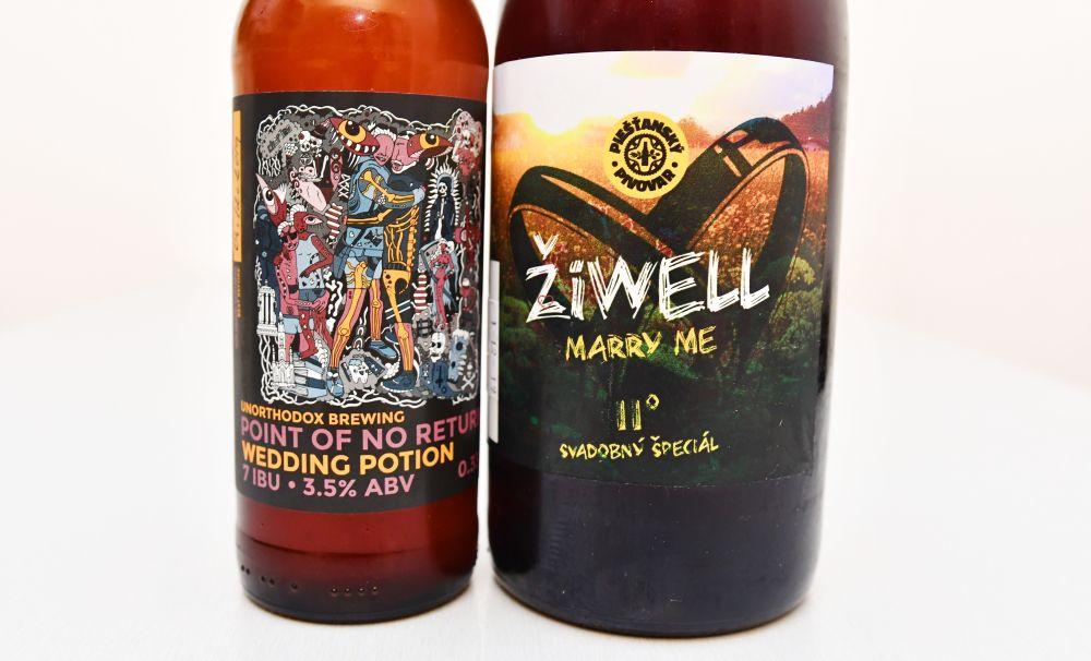 Piešťanský pivovar ŽiWell, Unorthodox Brewing, svadba, svadobné pivo, sviatočné pivo ,