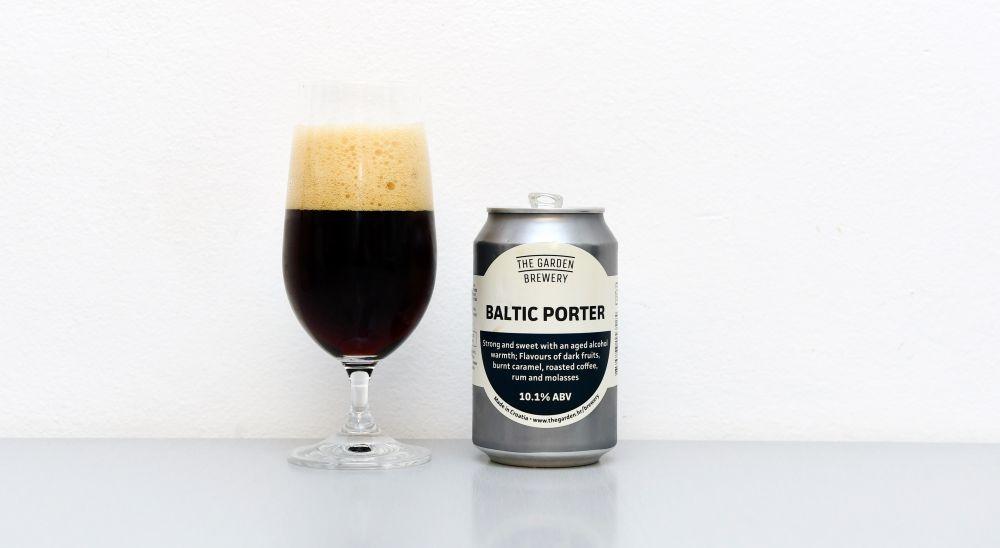 Baltic Porter, The Garden Brewery, Baltský Porter, Porter, chorvátske pivo, recenzia piva, test piva