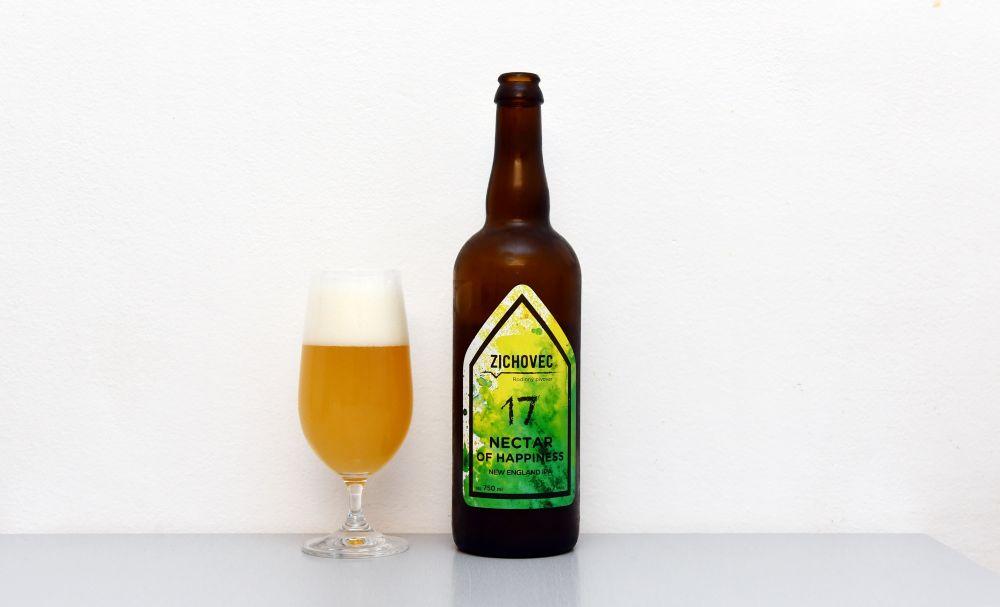 Nectar of Happines, Zichovec, NEIPA, IPA, test, recenzia