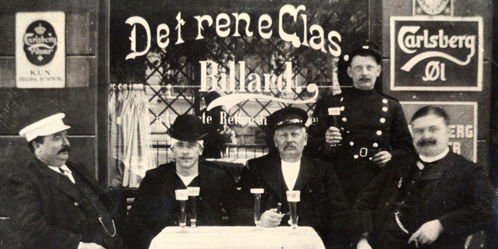 Dobová historická fotka pivovaru Carlsberg.