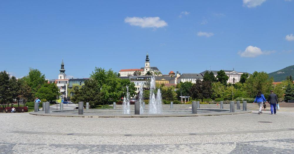 Nitra, metropola Nitrianskeho kraja.
