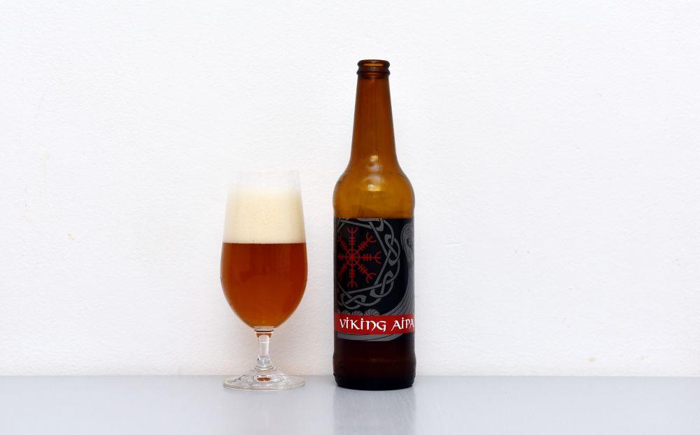 Viking AIPA. Produkt spolupráce pivovarov Pakt a Sandorf.
