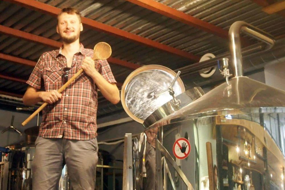 Peter Demko, sládok Piešťanského pivovaru ŽiWell.