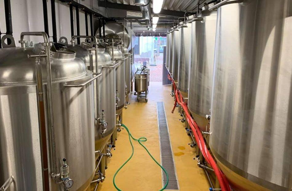 Pohľad do pivovaru Galgan.