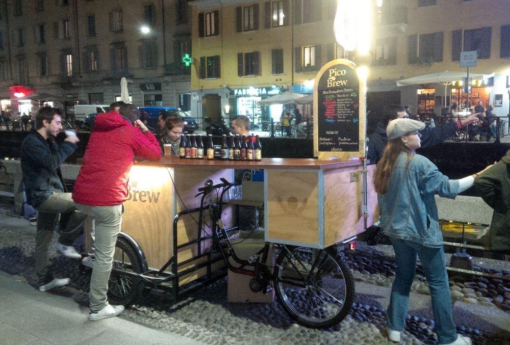 Pivo Brew v Miláne.