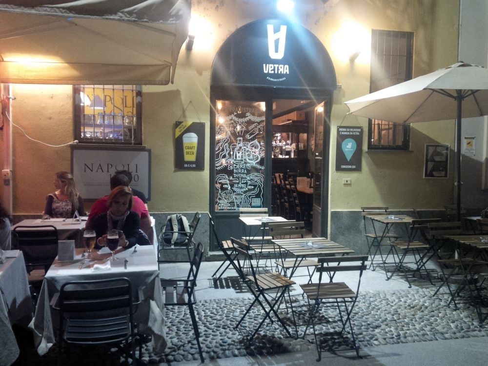 Podnik Vetra v Miláne.