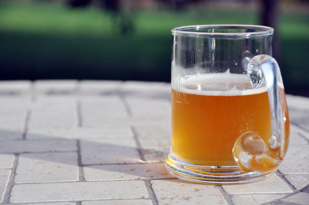 Pohár piva. Ležiak. Prvá pivná extraliga.
