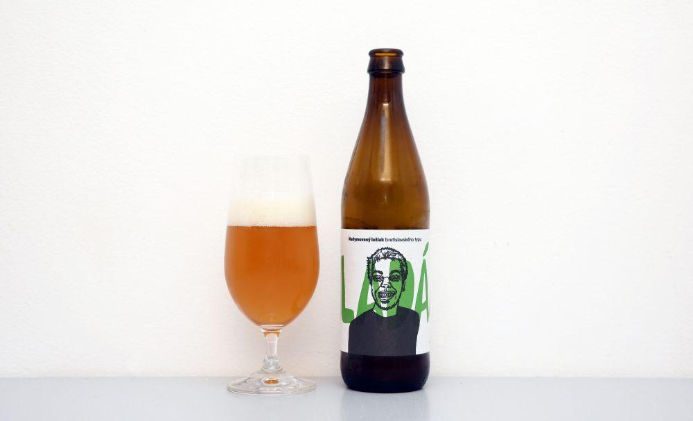 Pivovar Shenk a jeho pivo Aladár.