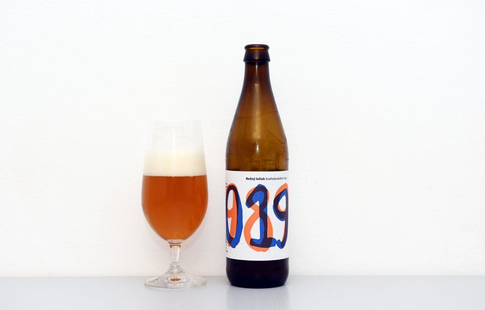 Pivo Václav z bratislavského pivovaru Shenk.