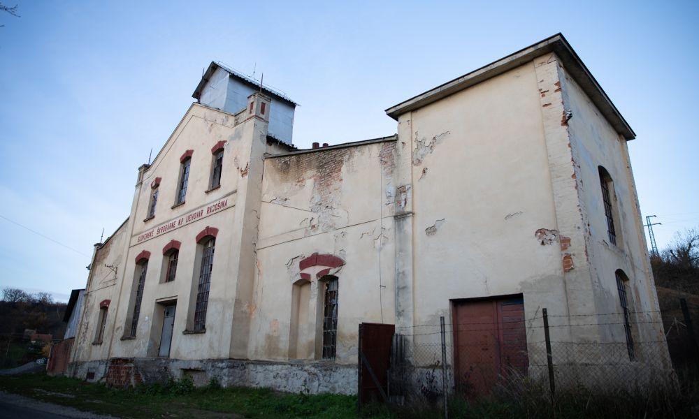 Budova, kde má vyrásť pivovar Radošina.