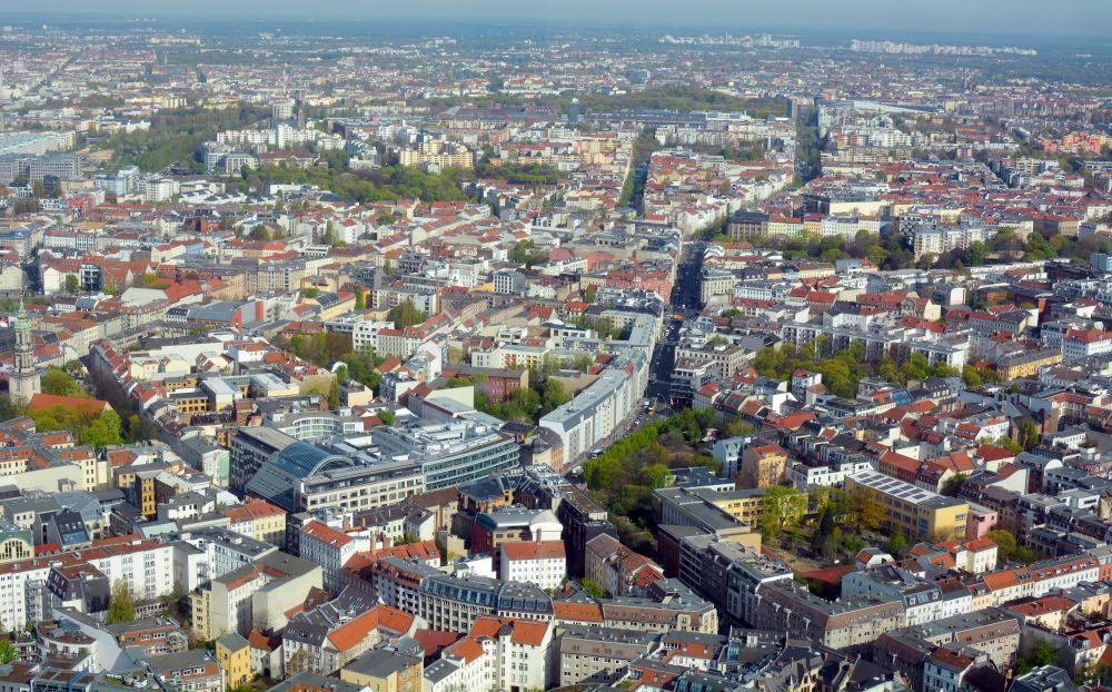 Berlín - pohľad na mesto