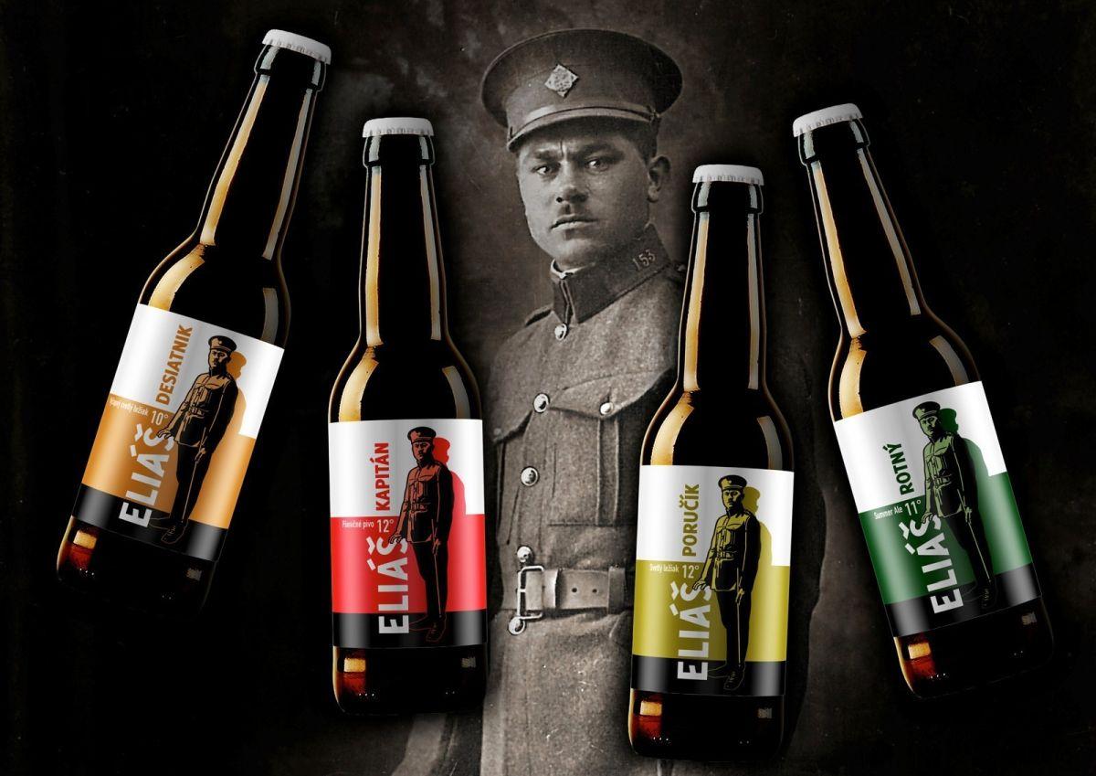 Pivovar Eliáš - etikety a ponuka