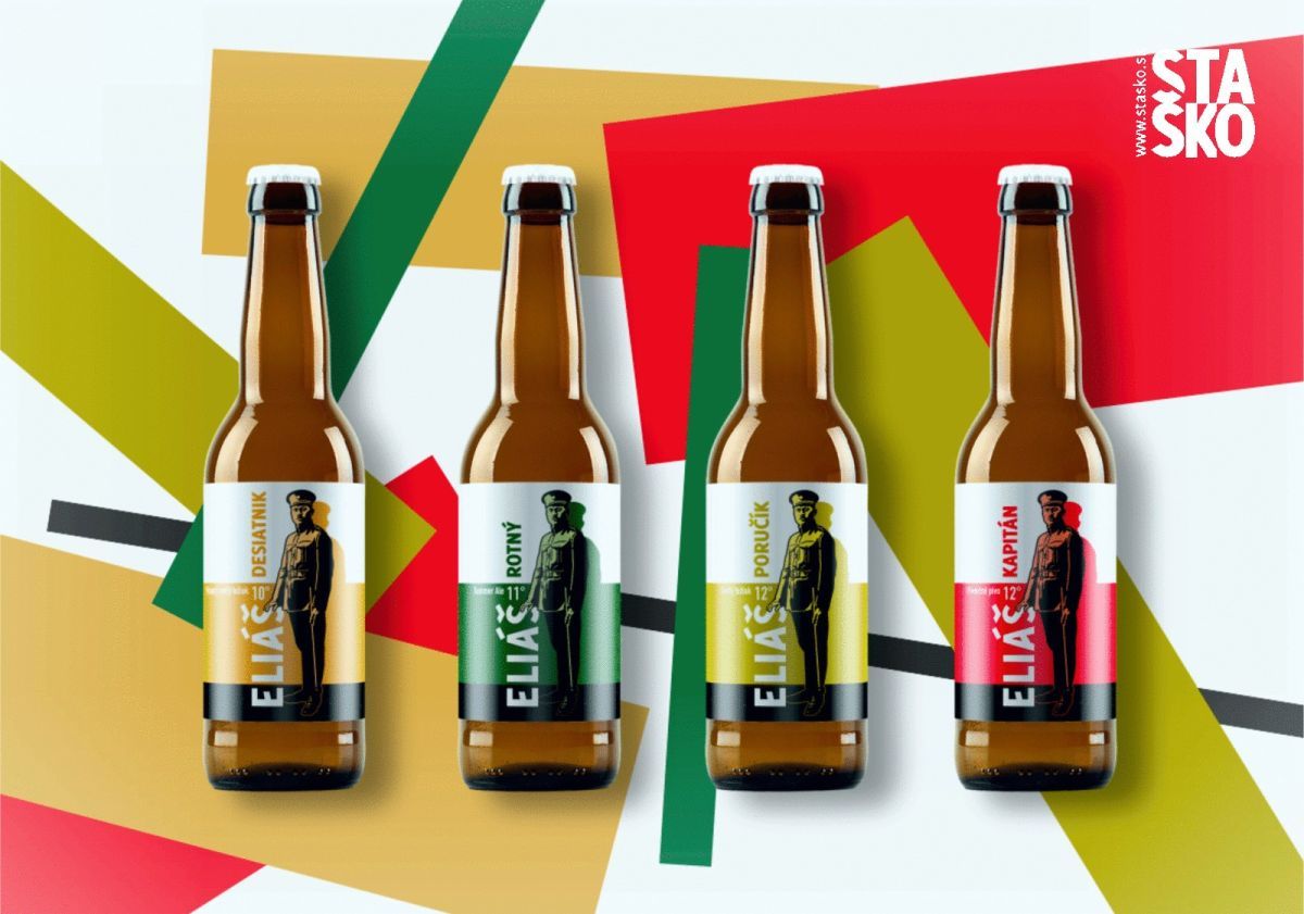 Pivovar Eliáš - dizajn