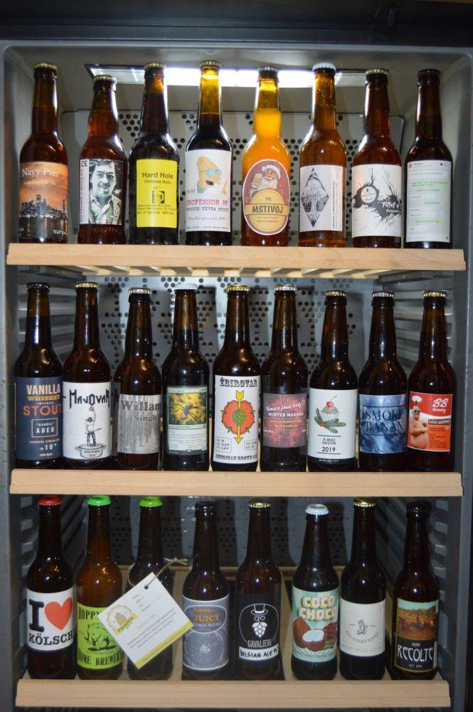 domovariči - pivá z vianočnej výmeny