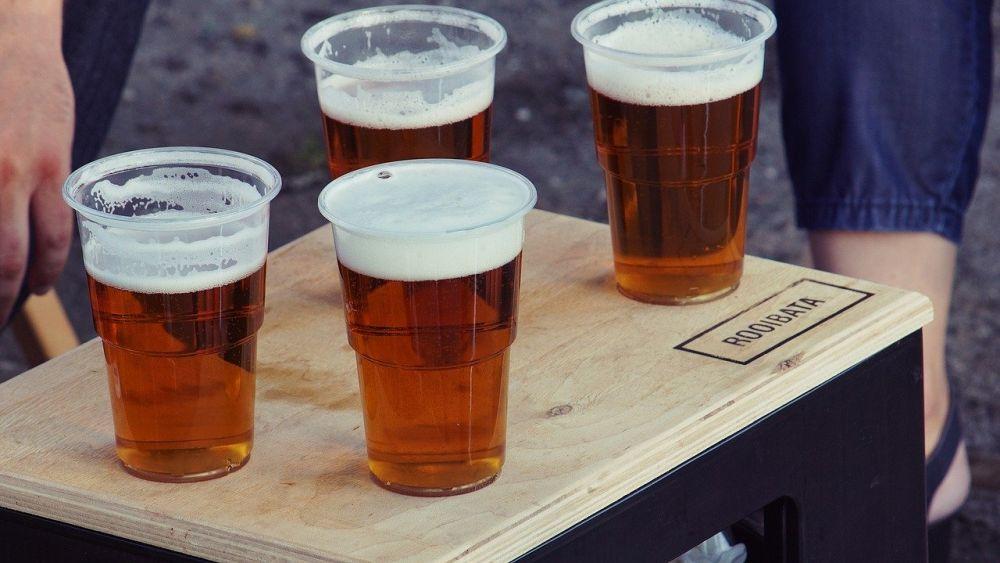 čapované pivo