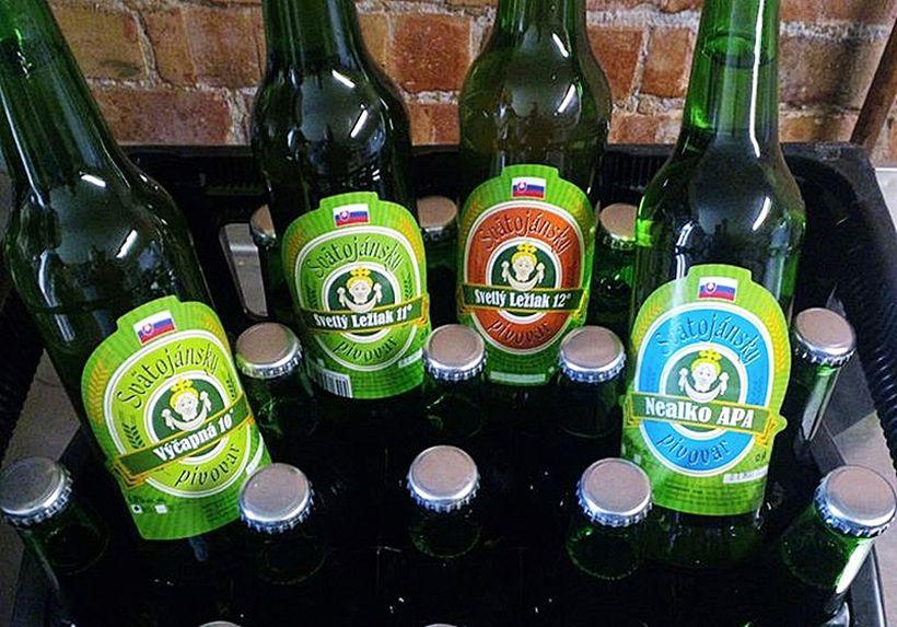 Svätojánsky pivovar - pivá