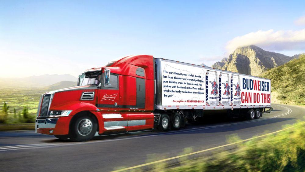 Anheuser-Busch kamión
