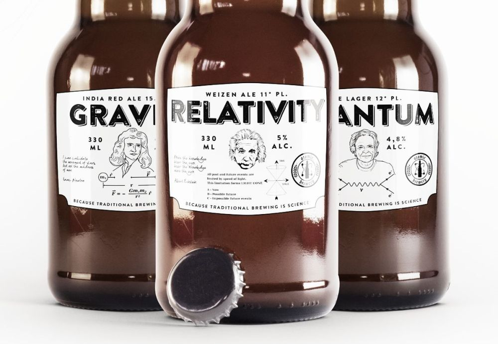 Atomic Brewery - fľaše