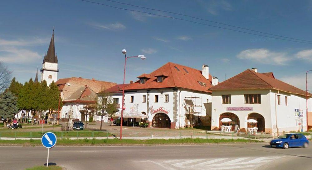 Budova, v ktorej sídli pivovar Galgenberg.