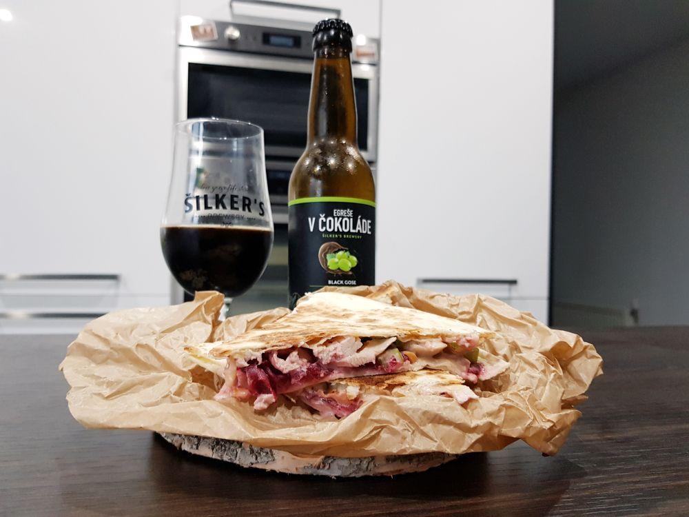 Šilker's Brewery/Beermalade – Egreše v čokoláde