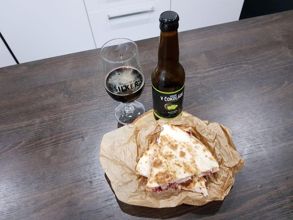 Šilker's Brewery/Beermalade – Egreše v čokoláde.