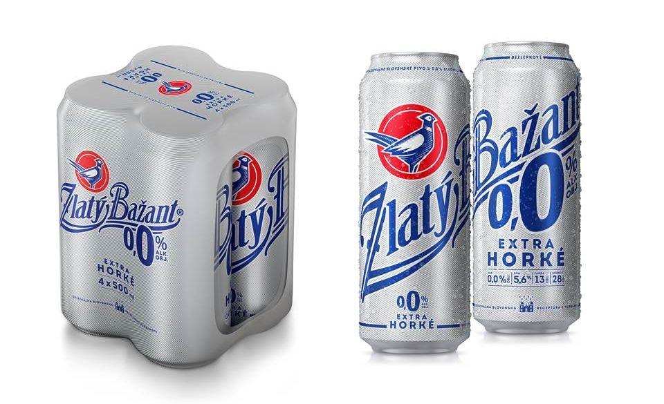 Nealko pivo - Zlatý bažant 0,0%