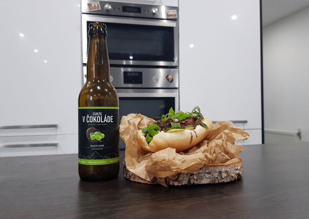 Recept - Hot dog - Egreše v čokoláde
