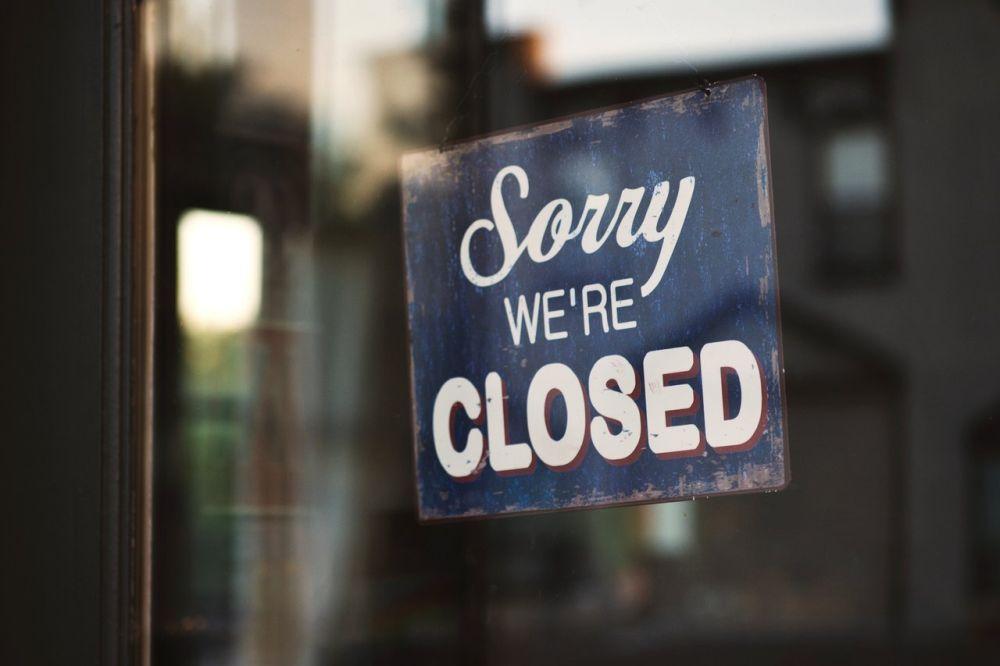 Zatvorené podniky