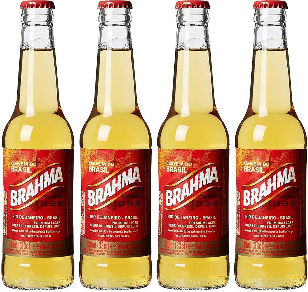 Najpredávanejšie pivá sveta - Brahma