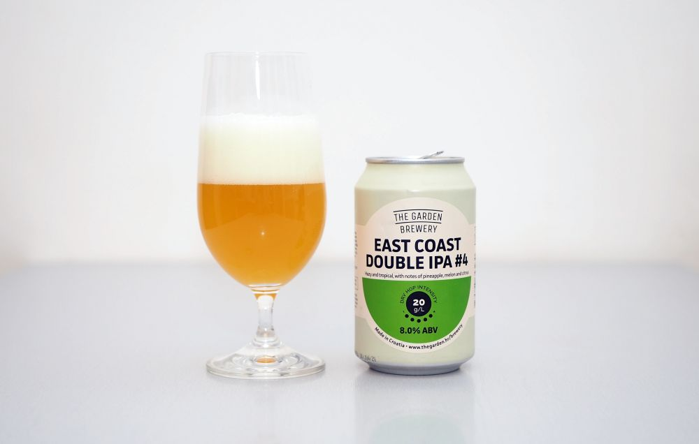 The Garden Brewery - East Coast Double IPA #4