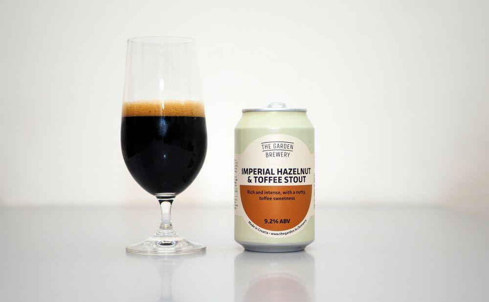 Imperial Hazelnut & Toffee Stout