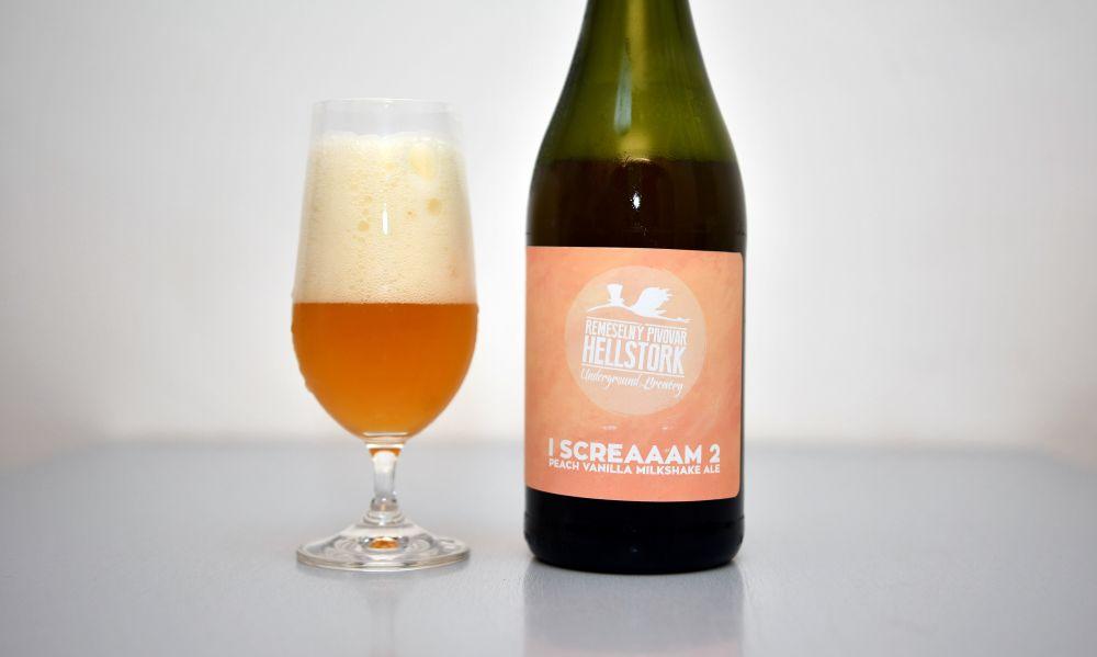 IScreaaam 2 - Peach Vanilla Milkshake Ale