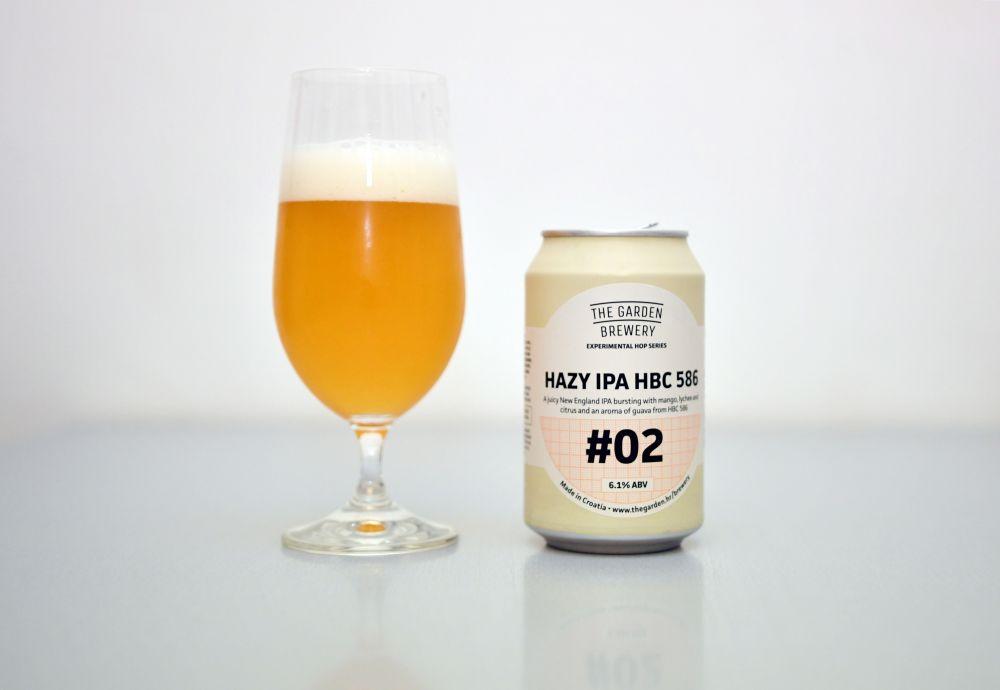 Garden Brewery - Hazy IPA HBC 586