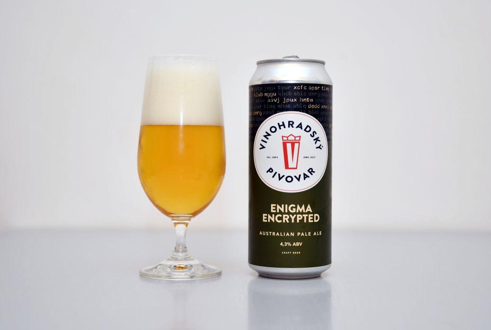 Vinohradský pivovar - Enigma Encrypted
