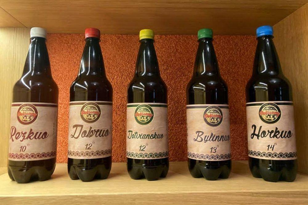 Podpoliansky pivovar - ponuka piva