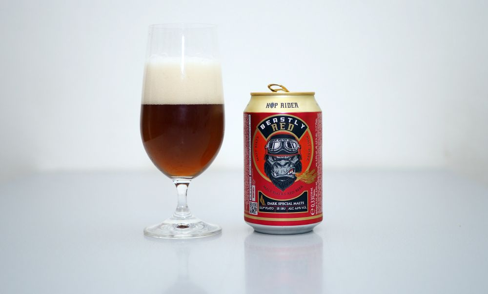 Hop Rider - Beastly Red