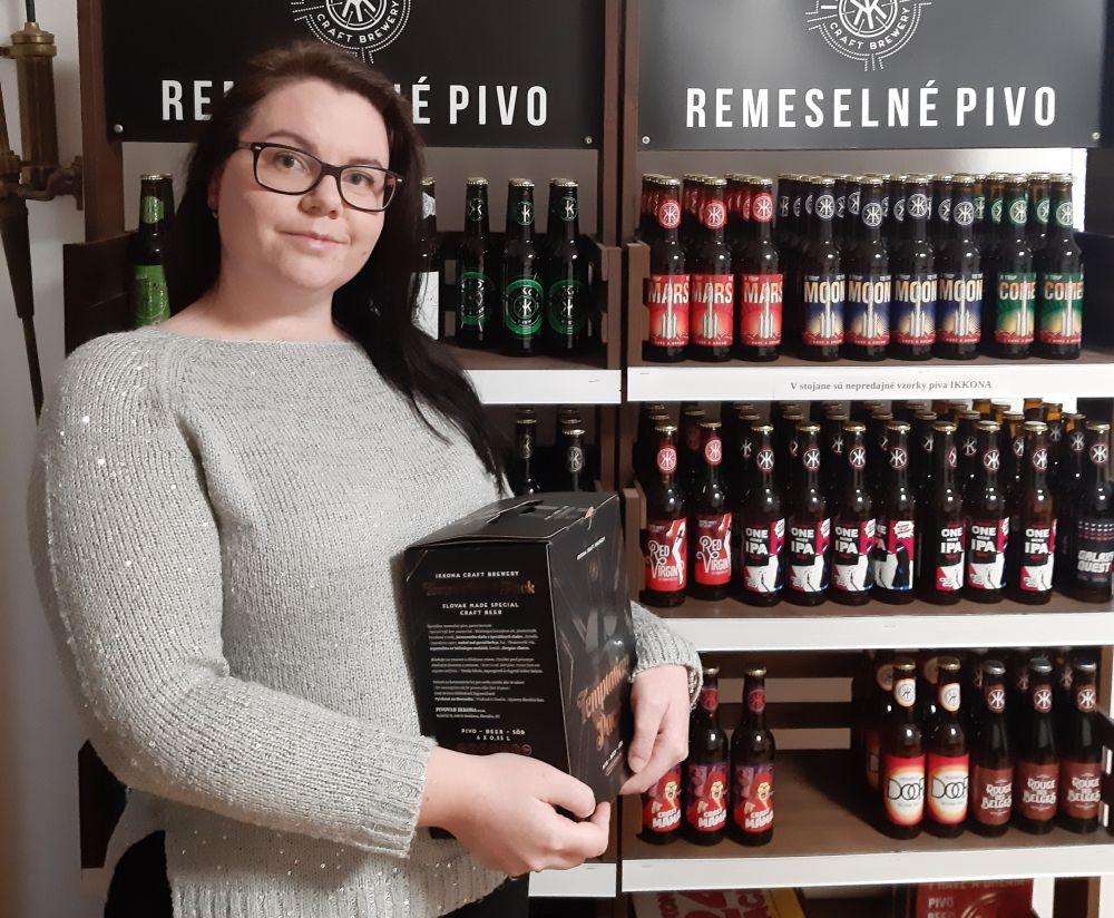 Katarína Koláčová, sládok a majiteľka kočovného pivovaru Ikkona