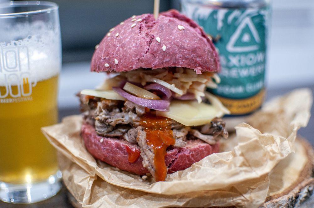 Recept do nového roku - Burger