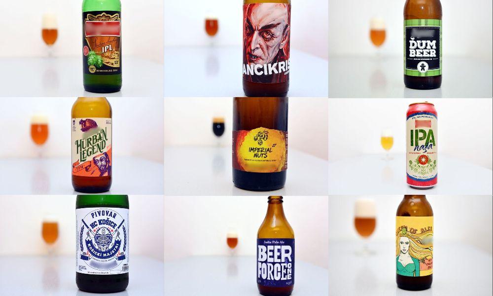 Pivný kvíz - Etikety pív