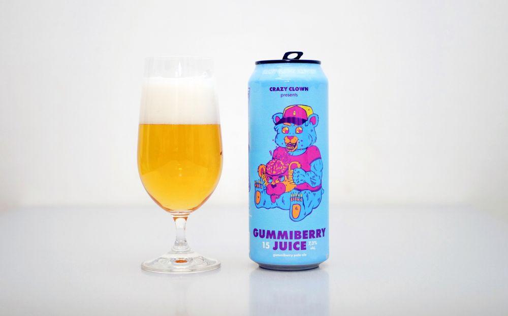 Crazy Clown - Gummiberry Juice tit2