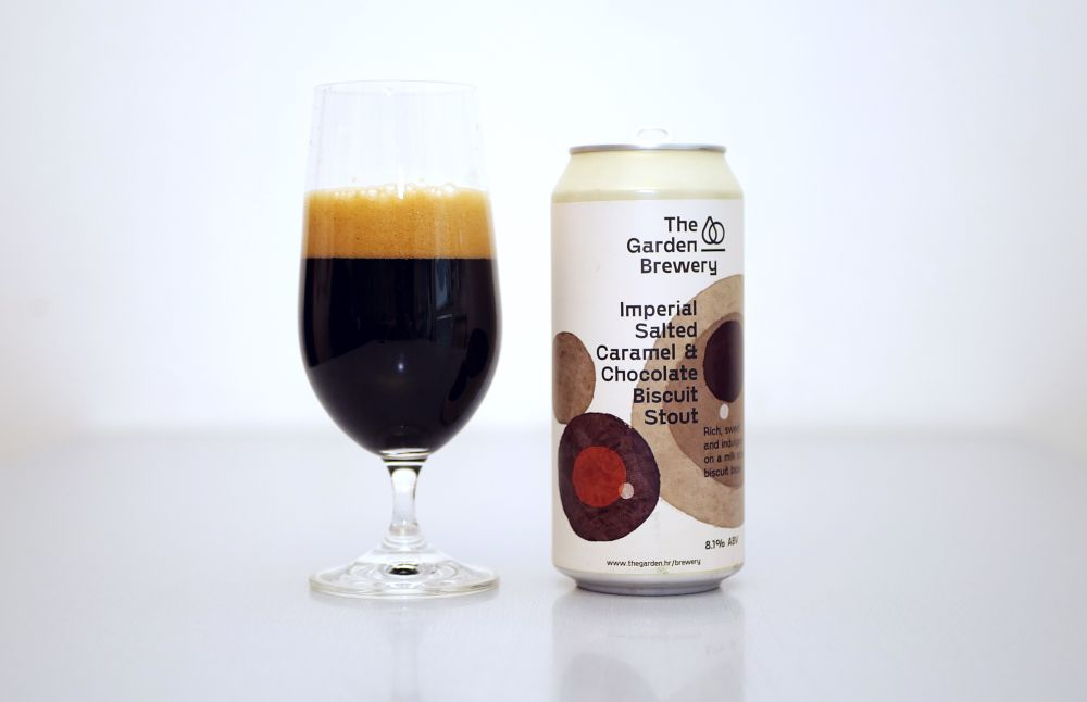The Garden Brewery - Imperial Salted Caramel & Chocolate Biscuit Stout
