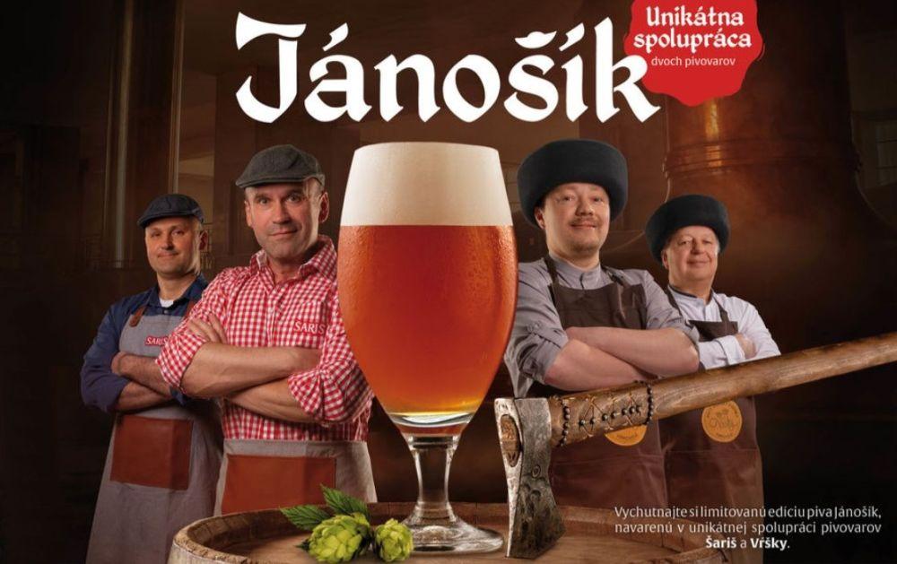 Jánošík - pivo